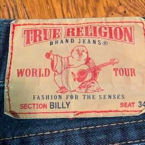 True Religion jeans. Out of stock from manuf.